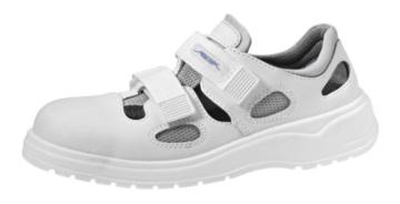 Abeba Damen-/Herren Berufssandale S1, Farbe weiß -